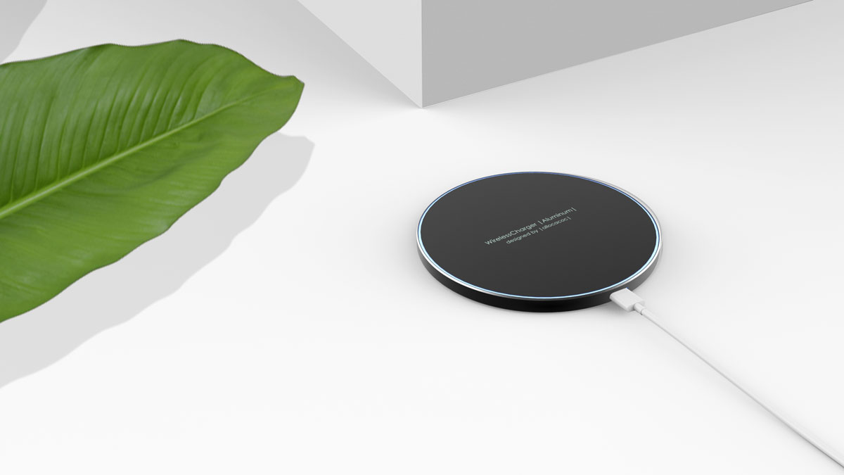 WirelessCharger |Aluminum| lifestyle